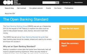 Open Banking Standard