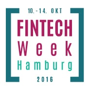 Logo FinTech week Hamburg