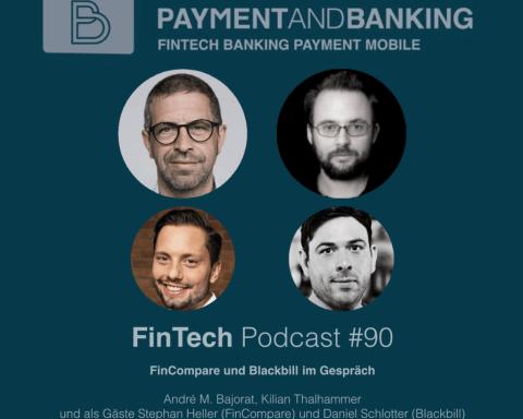 Fintech Podcast#90 FinCompare und Blackbill im Gespräch