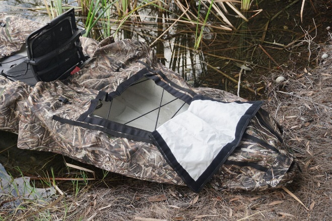 Yak Gear Camo Kayak Cover & Hunting Blind Photo 3