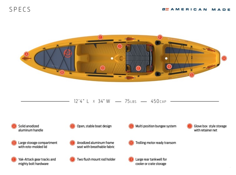 Crescent Kayaks LT Light Tackle Specs Payne Outdoors