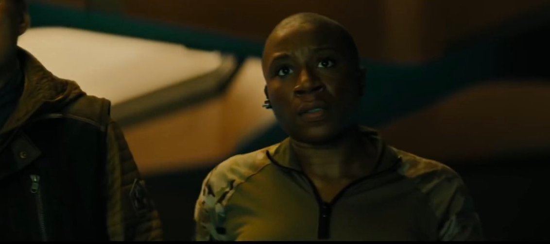 Aisha Hinds Godzilla Interview