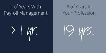 Years with Payroll Management