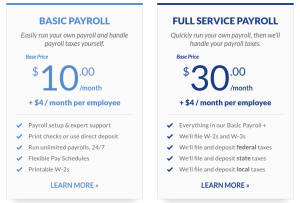 Patriot software plans and prices