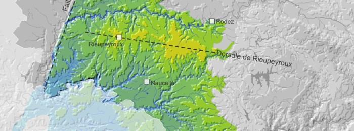 Terre à seigle – Relief et hydrographie