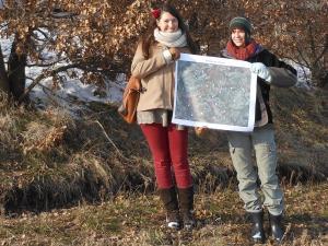 Inventaire de haies par Margaux David et Emeline Touloumet