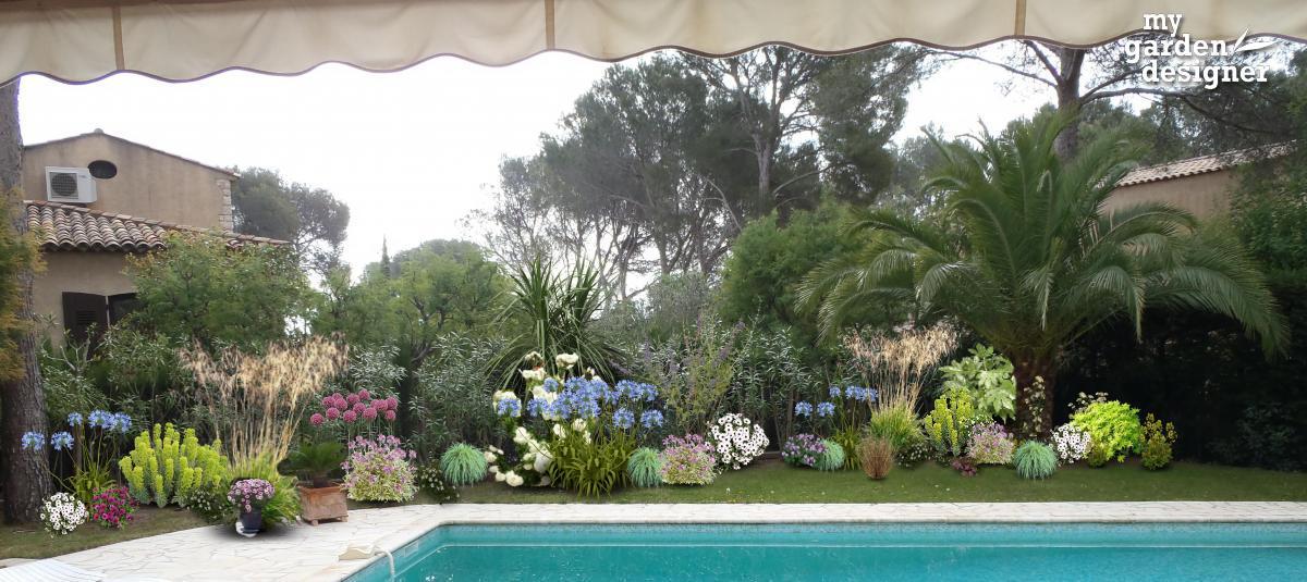 amenagement bord de piscine. Black Bedroom Furniture Sets. Home Design Ideas