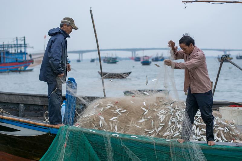 Pêcheurs à Hoi An