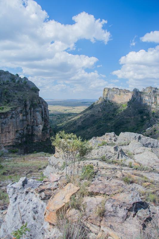 """pique-nique au """"point de vue"""" - Parc naturel d'Isalo"""