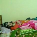4 couvertures, 1 duvet, 1 bouillotte et 1 bonnet : c'est bon je suis parée pour dormir !