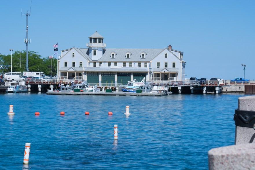 Un petit tour à Chicago : la marina?