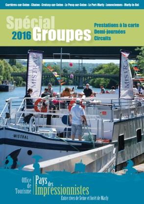 La brochure spéciale Groupes