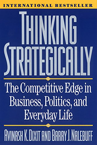 Thinking Strategically Book cover