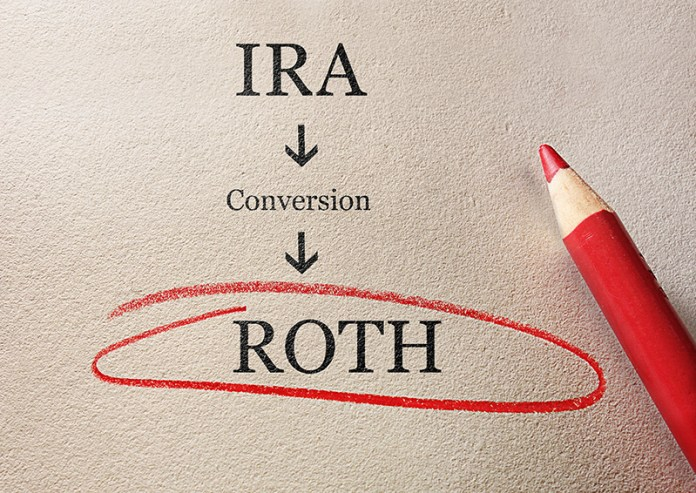 Only pay tax on the seed with Roth IRA conversions