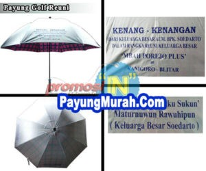 Supplier Payung Golf Murah Grosir Kupang