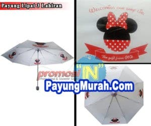 Grosir Payung Lipat Promosi Murah Indragiri