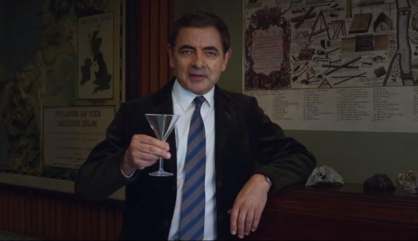Rowan Atkinson potřetí v roli sympatického suveréna aneb Johnny English je opět bžunda