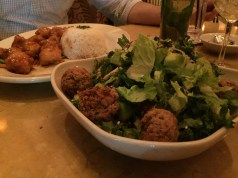 Untracked, free meal. Making delicious, healthy choices @ Cheesecake Factory