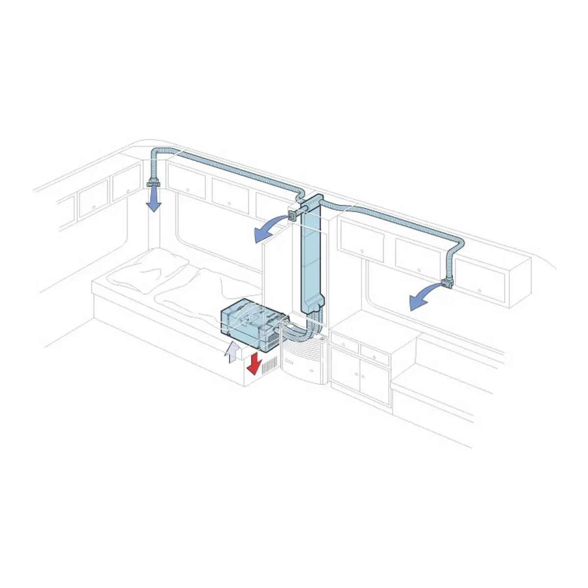Truma Saphir Compact Storage Compartment Air Conditioning