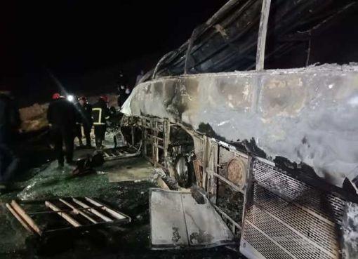 مصرع 20 مواطنًا وإصابة 3 آخرين في حادث تصادم بأسيوط في مصر