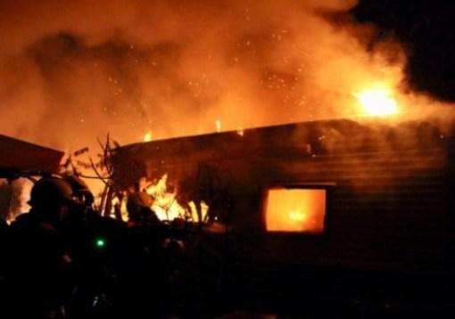 وفاة ثمانية فلسطينيين بينهم سيدة وأبناءها الخمسة في حريق جدة بالسعودية