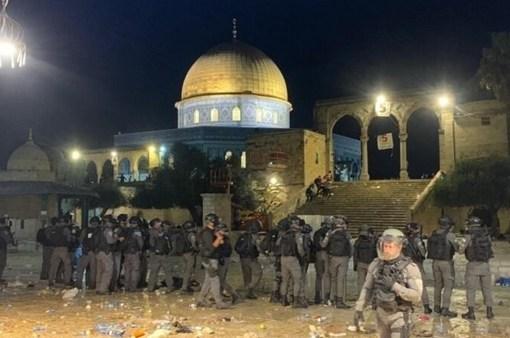 """الرئيس التركي يدين اعتداءات الاحتلال على المصلين في """"الأقصى"""""""