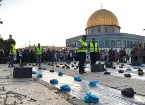 """""""الأقصى"""": الاحتلال يمنع ادخال وجبات إفطار للصائمين"""