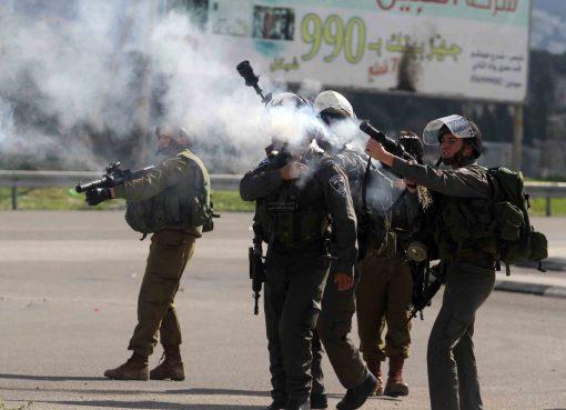 قلقيلية: اندلاع مواجهات عقب قمع الاحتلال مسيرة منددة بالعدوان الإسرائيلي على شعبنا في جيوس