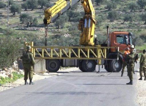 جنين: الاحتلال يعتقل شابا ويغلق طرقا فرعية في يعبد