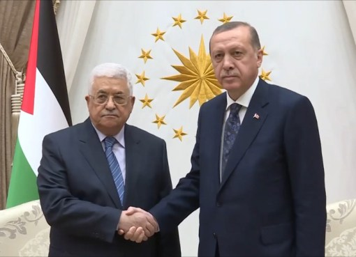 الرئيس يتلقى اتصالا هاتفيا من نظيره التركي ويبحثان الأوضاع الخطيرة في القدس