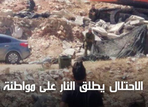 استشهاد مواطنة على حاجز حزما