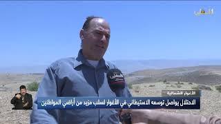 المزارع عبد اللطيف عدوان من طولكرم  .. إصرار على التمسك بالارض وتحدي الاستيطان