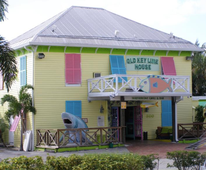 The Old Key Lime House, 2009. This was once the home of Morris Benson Lyman, the father of Lantana.