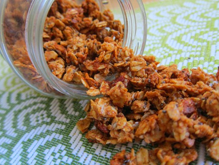 almond butter granola 031