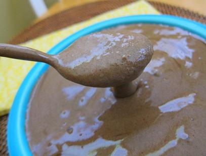 chocolate smoothie bowl 007