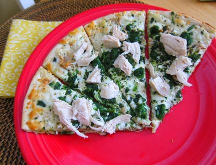 newmans own white pizza 004