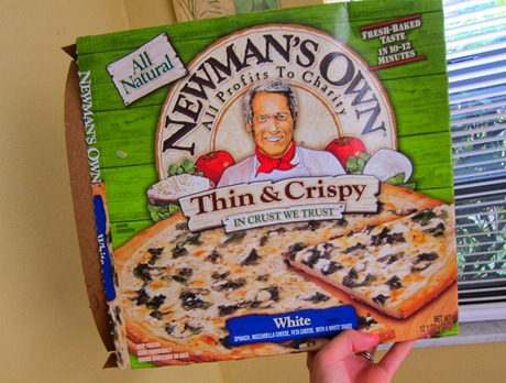 newmans own white pizza 007