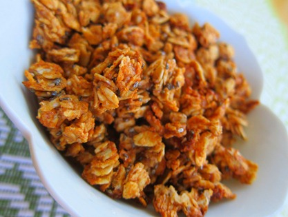almond butter granola 023