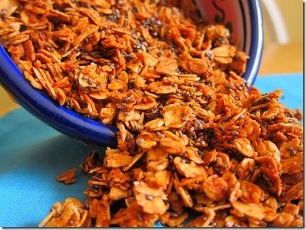 cinnamon chia seed granola 016