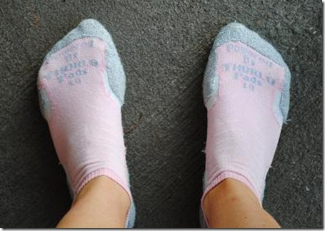 thorlo pad running socks