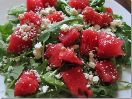 watermelon and feta salad 002