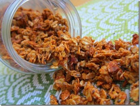 almond butter granola