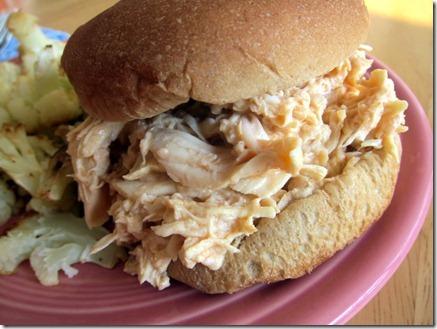 buffalo chicken sandwich 030