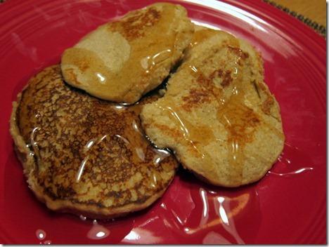 banana bread protein pancakes 019