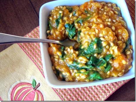 butternut squash wheat berry risotto 008