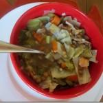 cabbage lentil soup 007-1