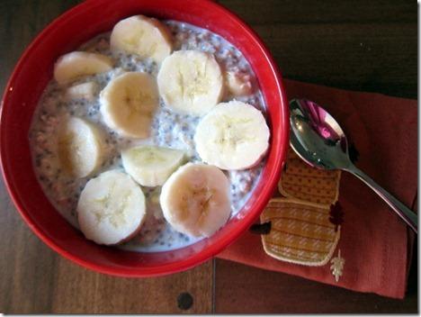 overnight oats banana 016