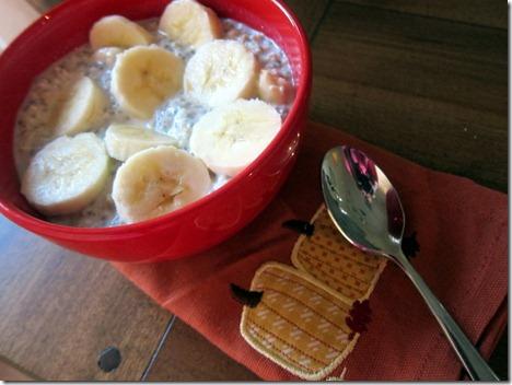 overnight oats banana 018