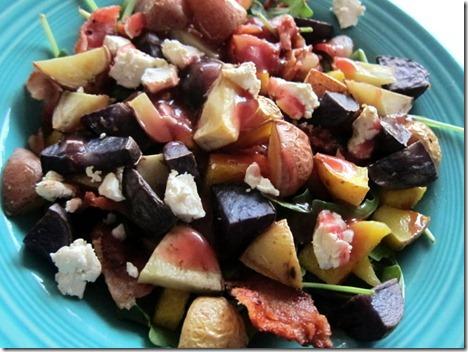 roasted potato salad 023