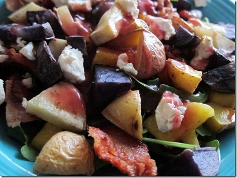 roasted potato salad 024